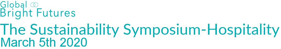 The Sustainability Symposium-Hospitality